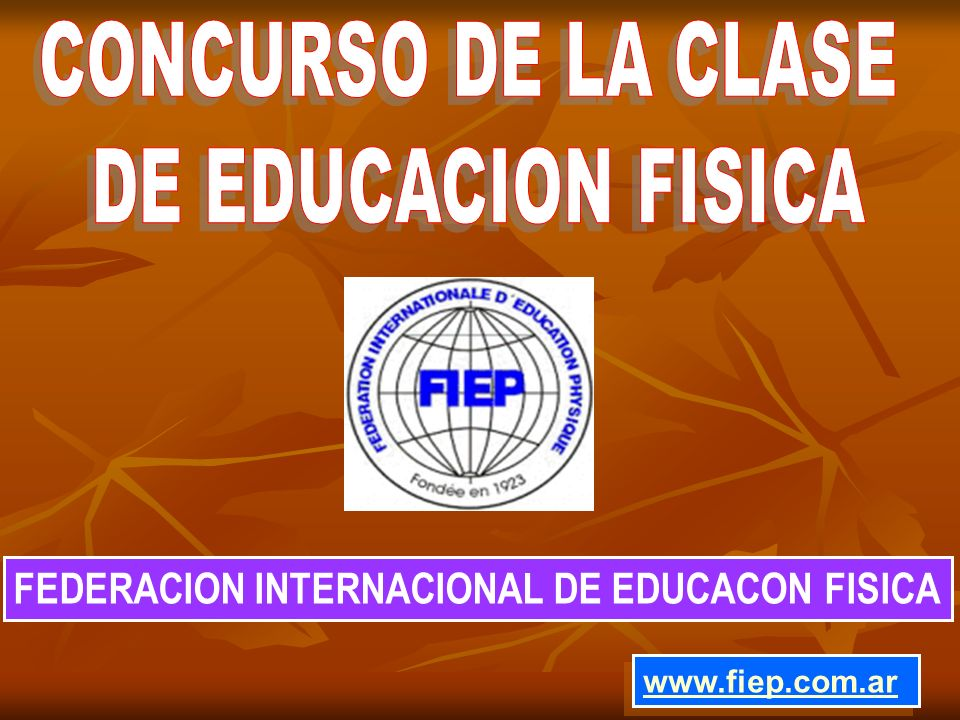 CONCURSO DE LA CLASE DE EDUCACION FISICA