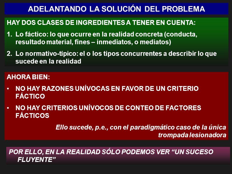 ADELANTANDO LA SOLUCIÓN DEL PROBLEMA