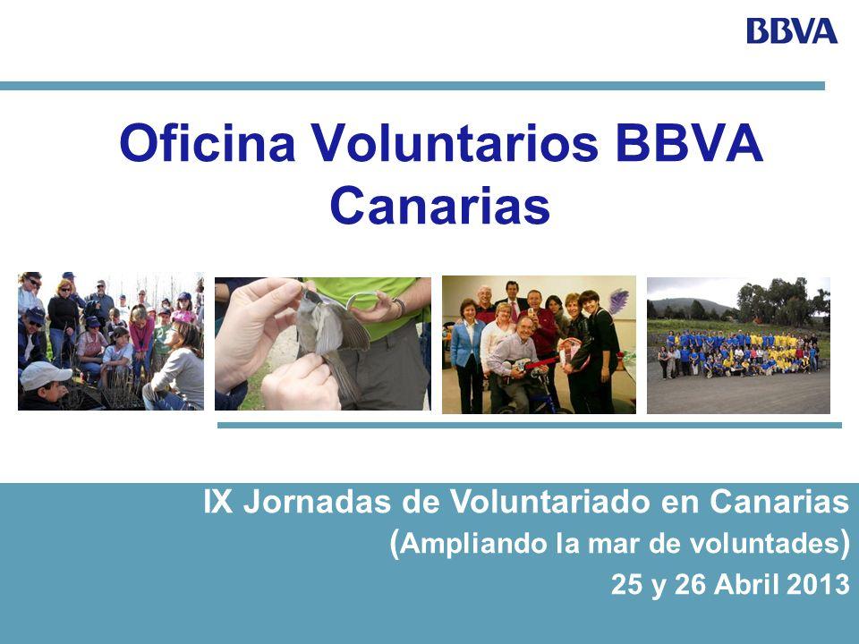 Oficina Voluntarios BBVA Canarias