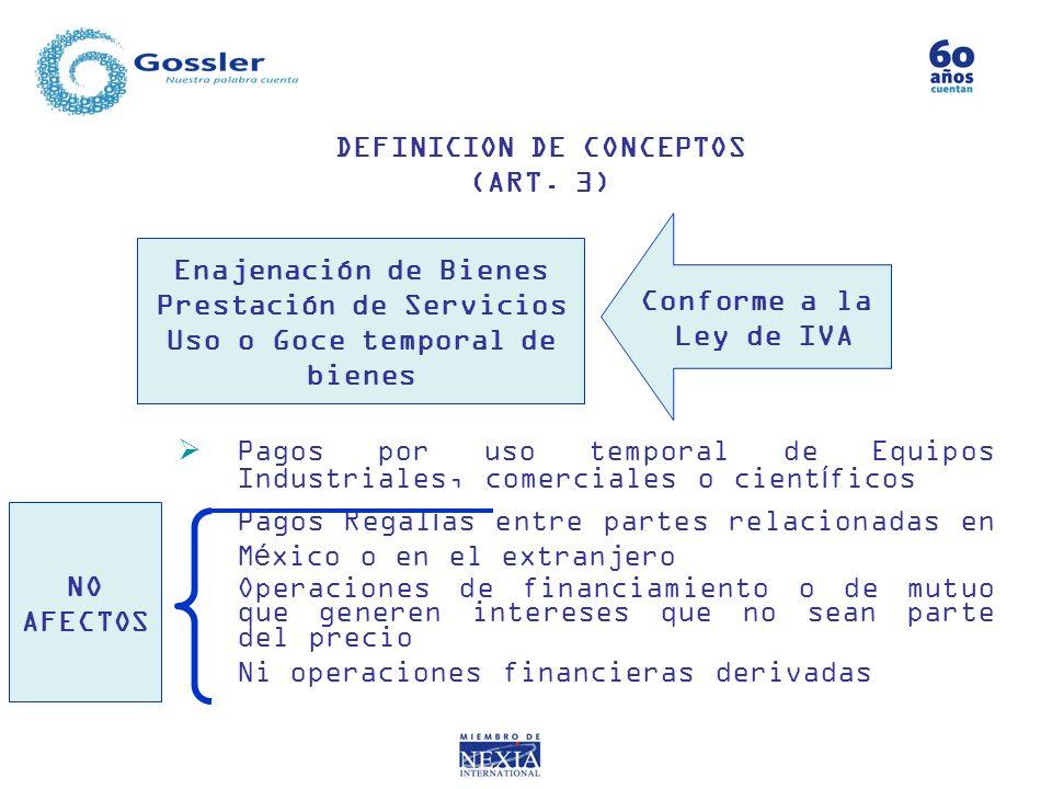 DEFINICION DE CONCEPTOS (ART. 3)