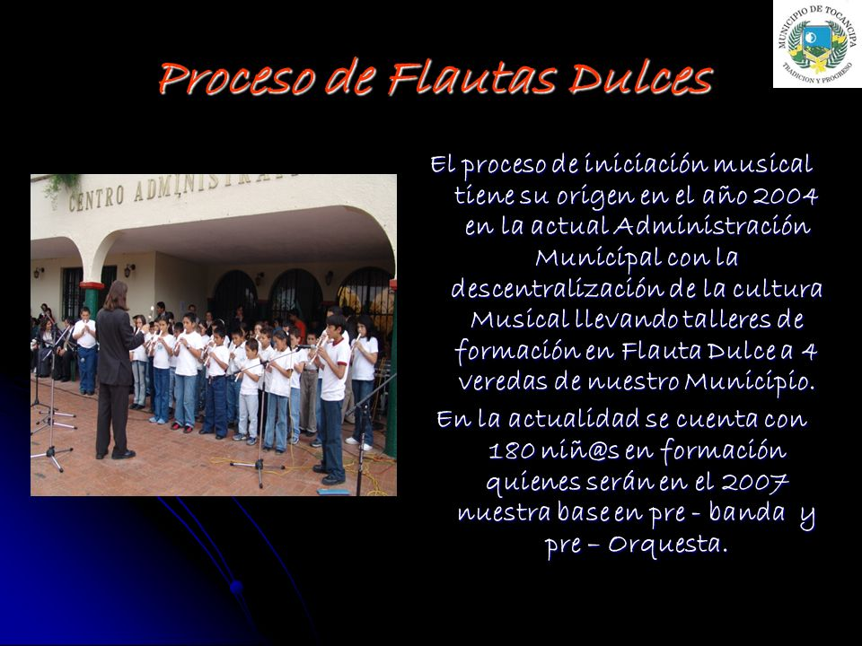 Proceso de Flautas Dulces