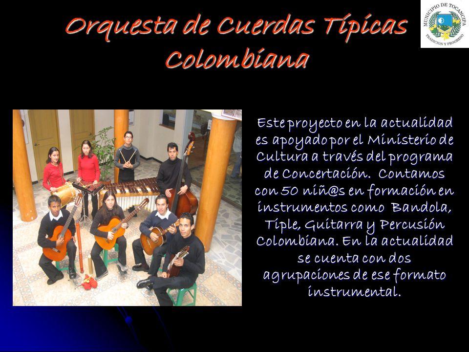 Orquesta de Cuerdas Típicas Colombiana