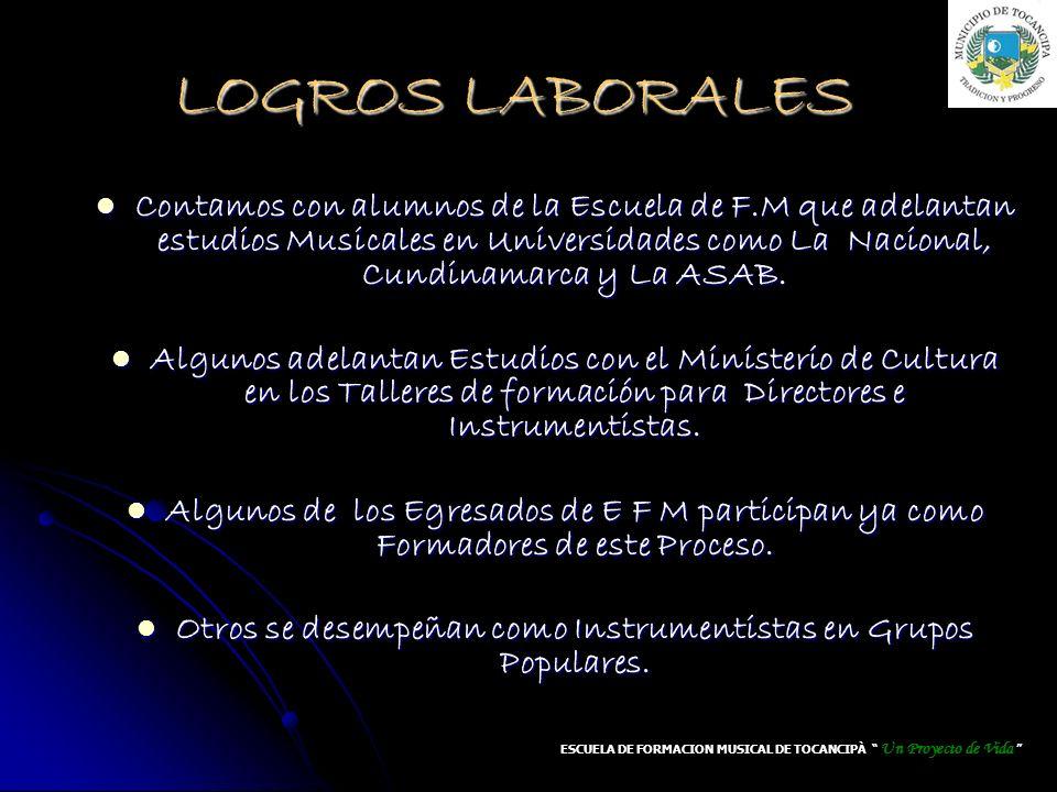 LOGROS LABORALES