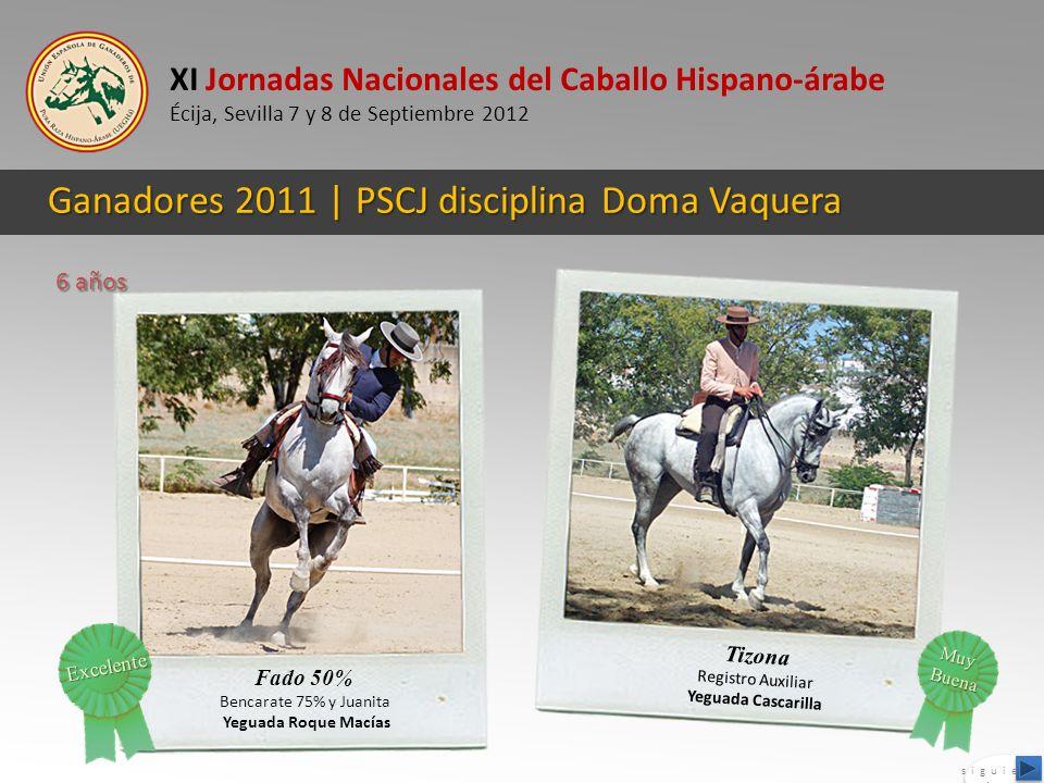 Ganadores 2011 | PSCJ disciplina Doma Vaquera