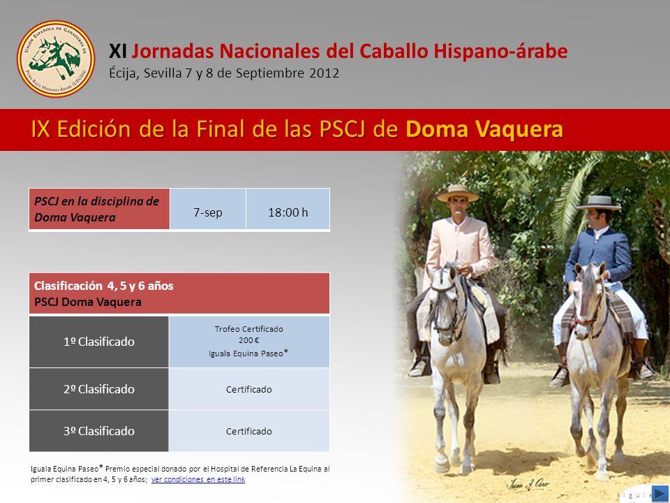 IX Edición de la Final de las PSCJ de Doma Vaquera