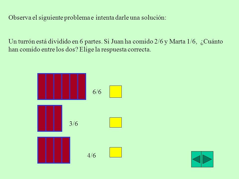 Observa el siguiente problema e intenta darle una solución: