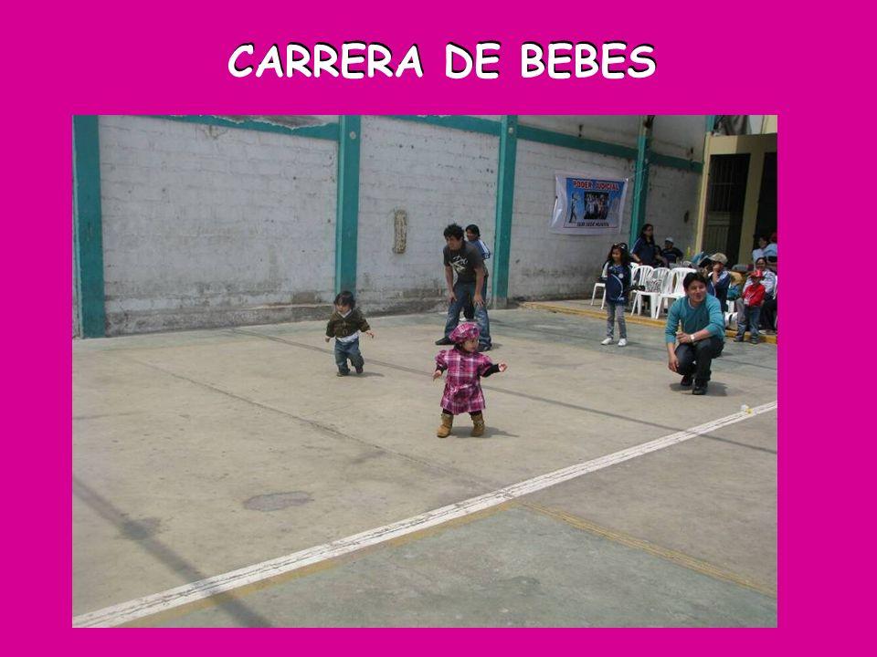 CARRERA DE BEBES