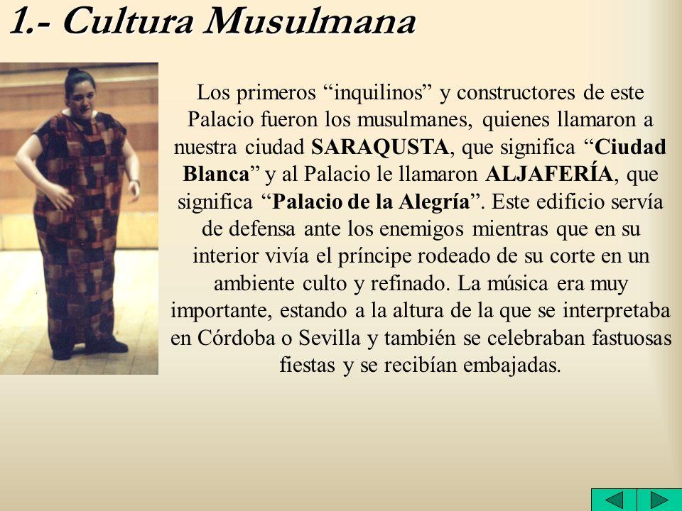 1.- Cultura Musulmana