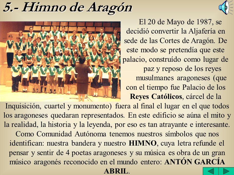5.- Himno de Aragón