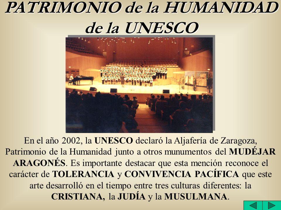 PATRIMONIO de la HUMANIDAD de la UNESCO