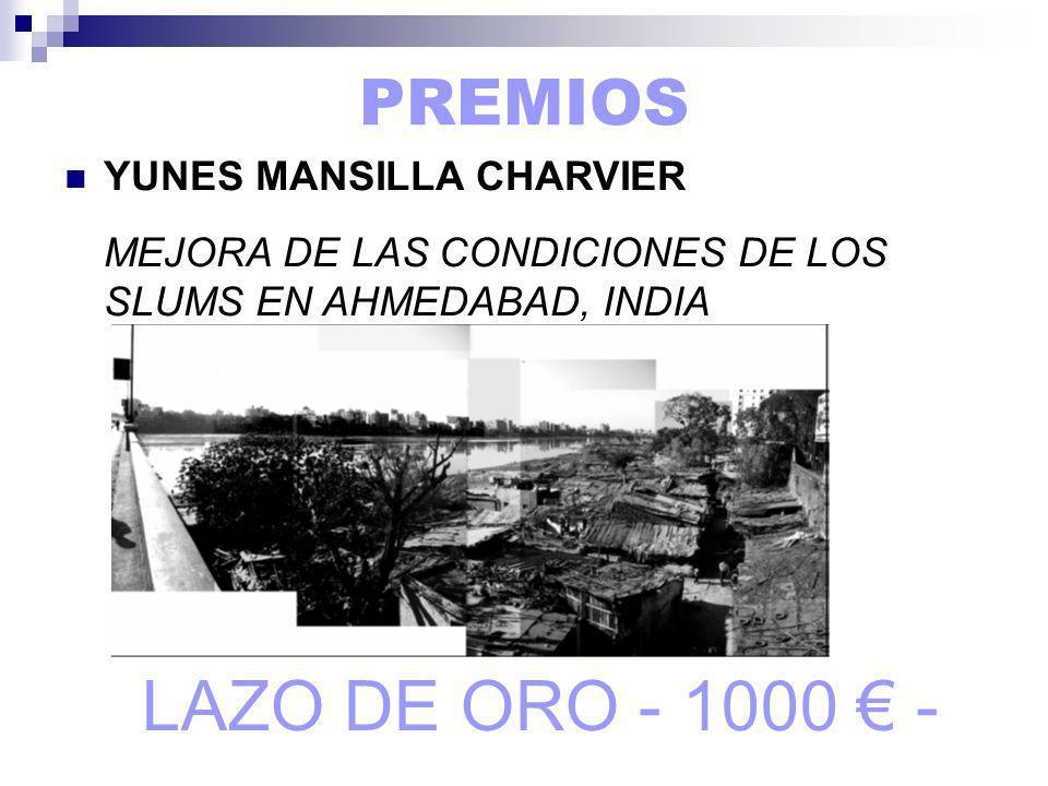 LAZO DE ORO - 1000 € - PREMIOS YUNES MANSILLA CHARVIER