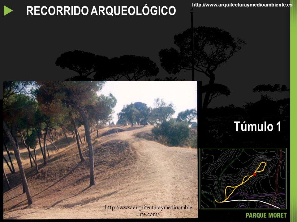 Túmulo 1 u RECORRIDO ARQUEOLÓGICO