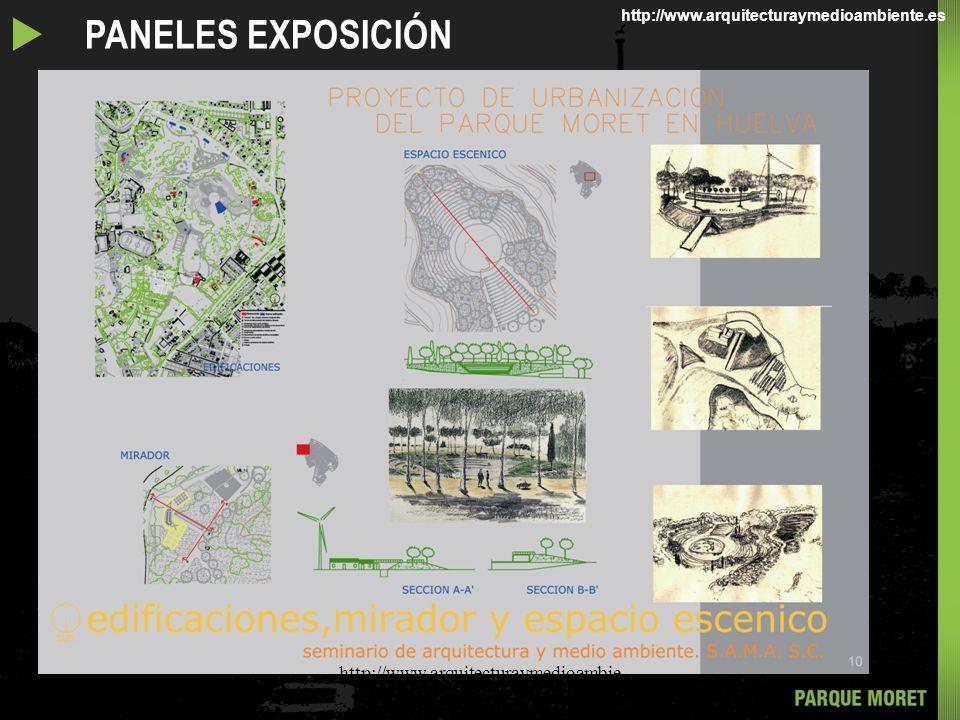 u PANELES EXPOSICIÓN http://www.arquitecturaymedioambiente.com/