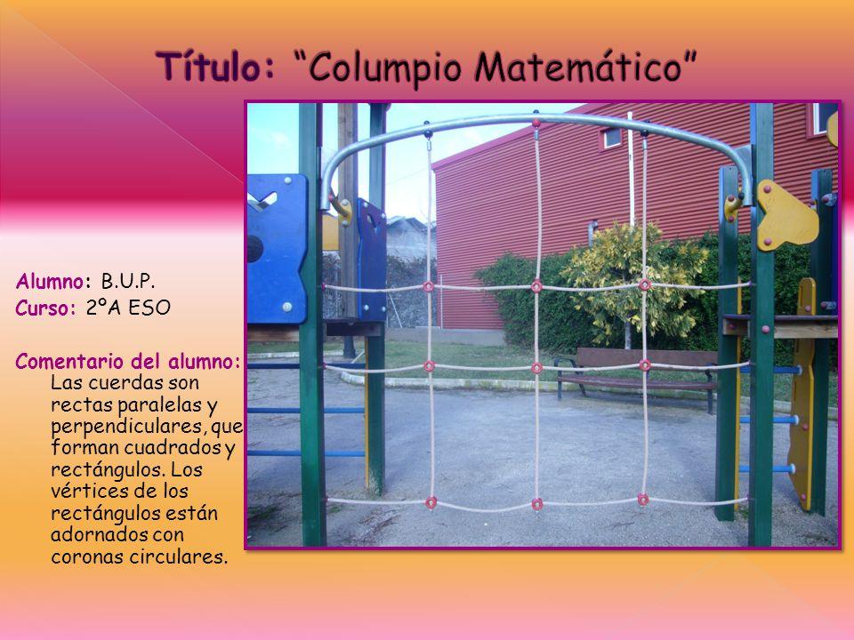 Título: Columpio Matemático