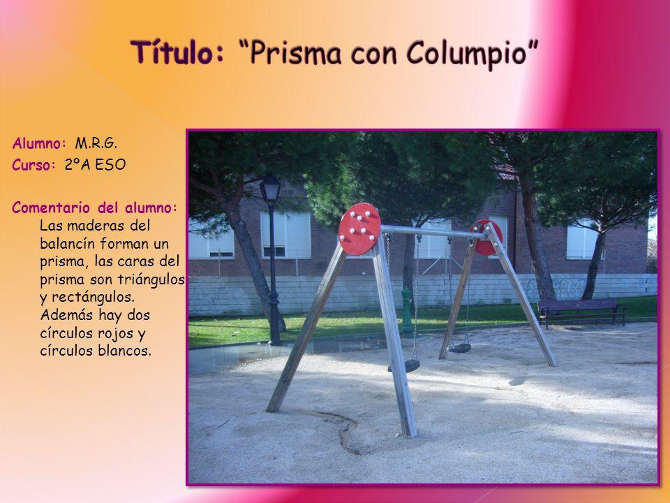 Título: Prisma con Columpio