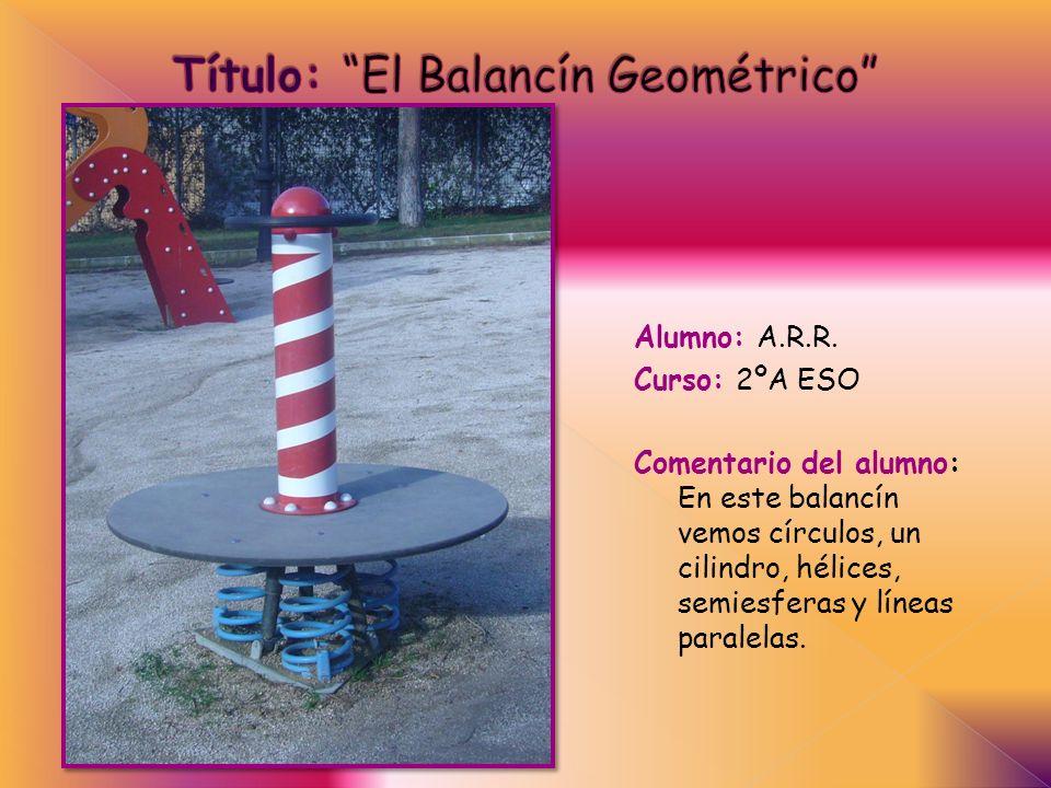 Título: El Balancín Geométrico