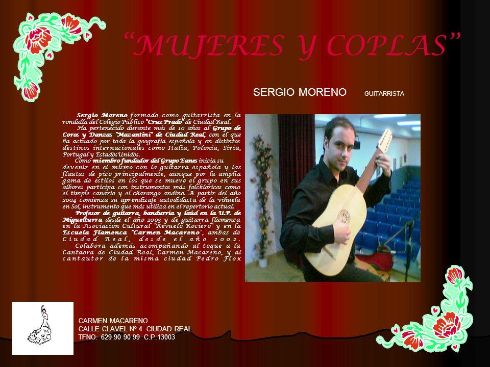 SERGIO MORENO GUITARRISTA