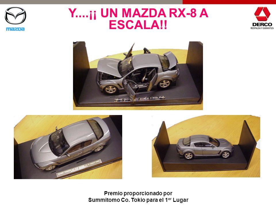 Y....¡¡ UN MAZDA RX-8 A ESCALA!!