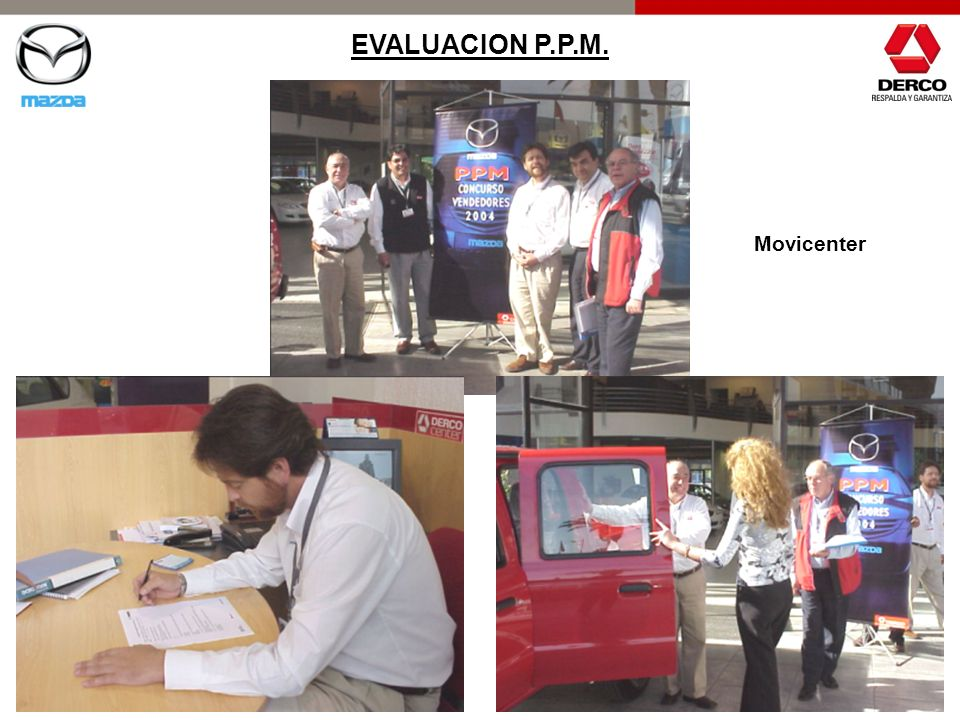 EVALUACION P.P.M. Movicenter