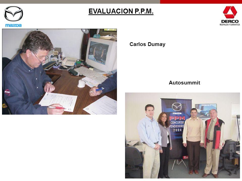 EVALUACION P.P.M. Carlos Dumay Autosummit