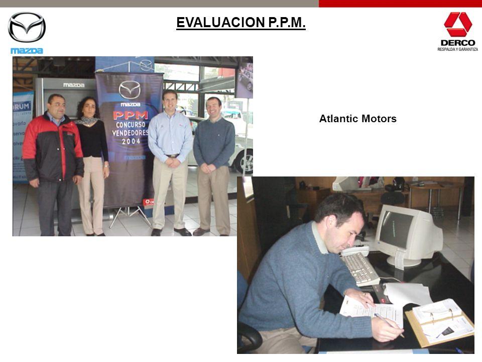 EVALUACION P.P.M. Atlantic Motors