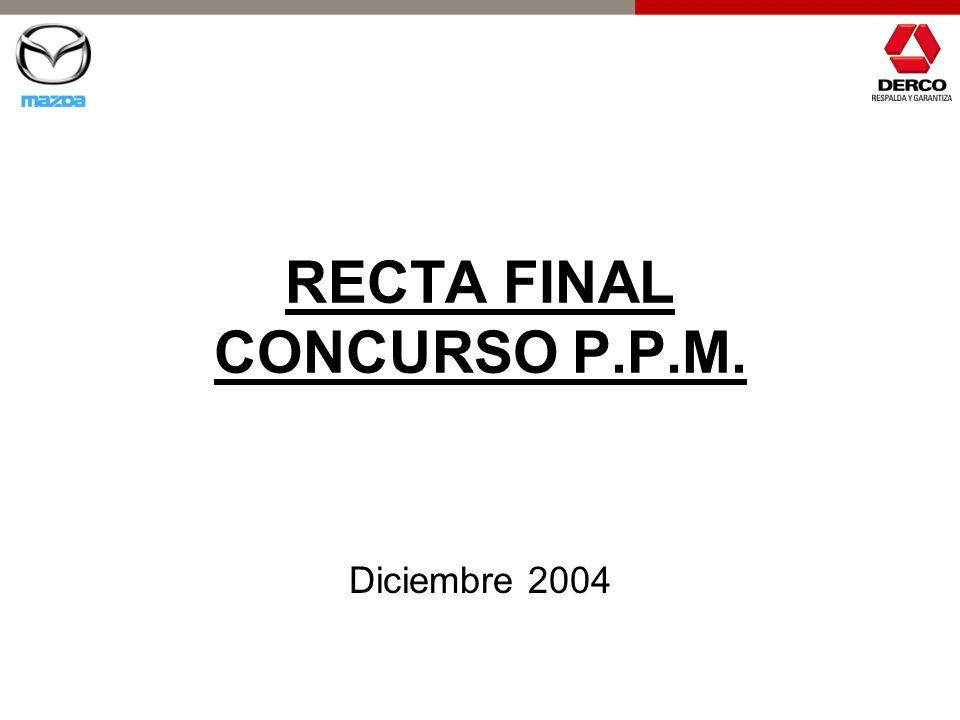 RECTA FINAL CONCURSO P.P.M.