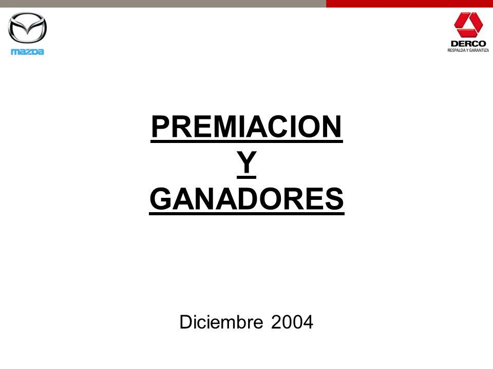 PREMIACION Y GANADORES