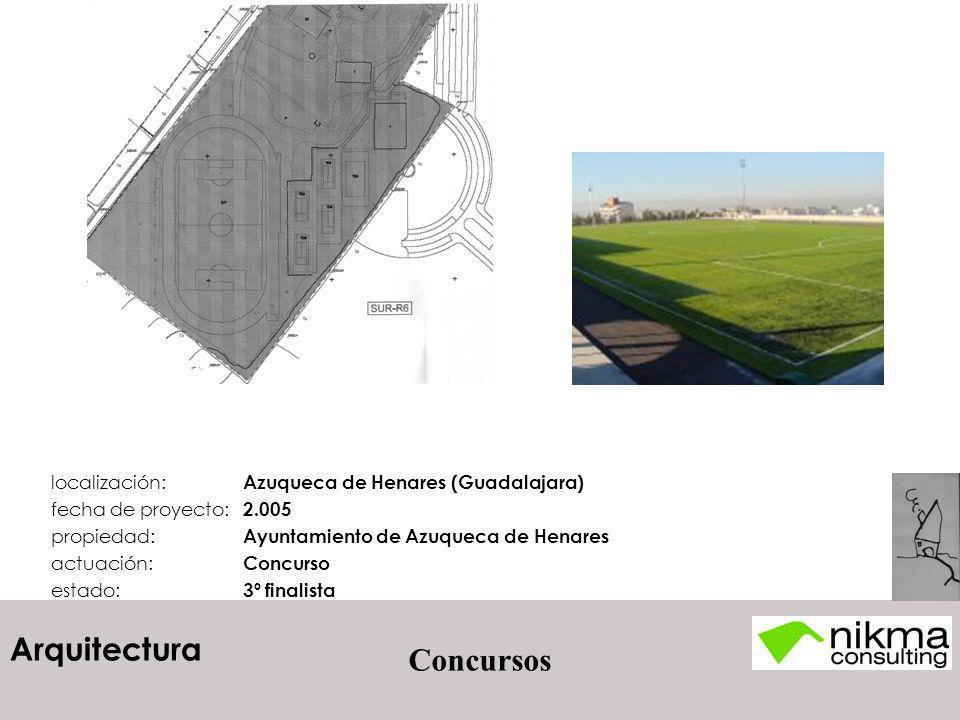 Concursos localización: Azuqueca de Henares (Guadalajara)