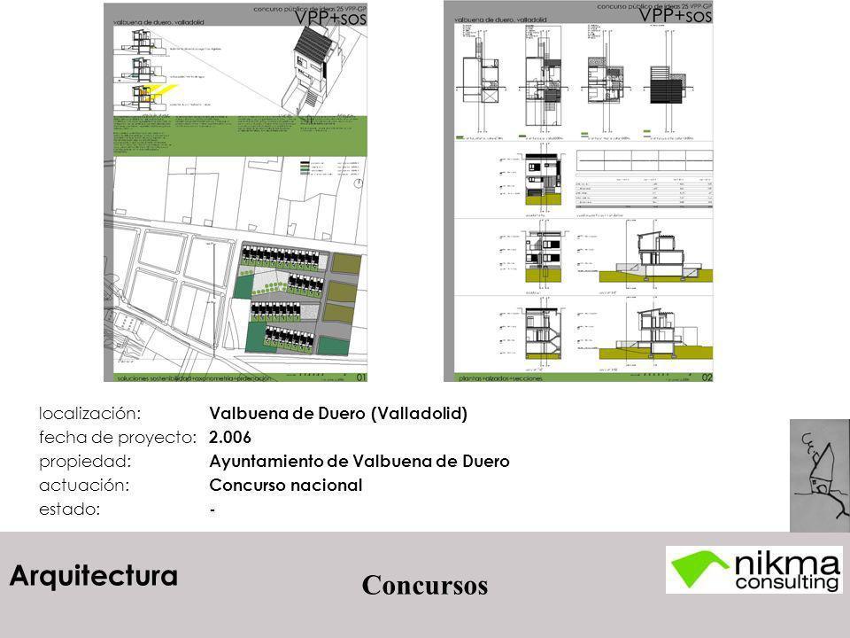 Concursos localización: Valbuena de Duero (Valladolid)