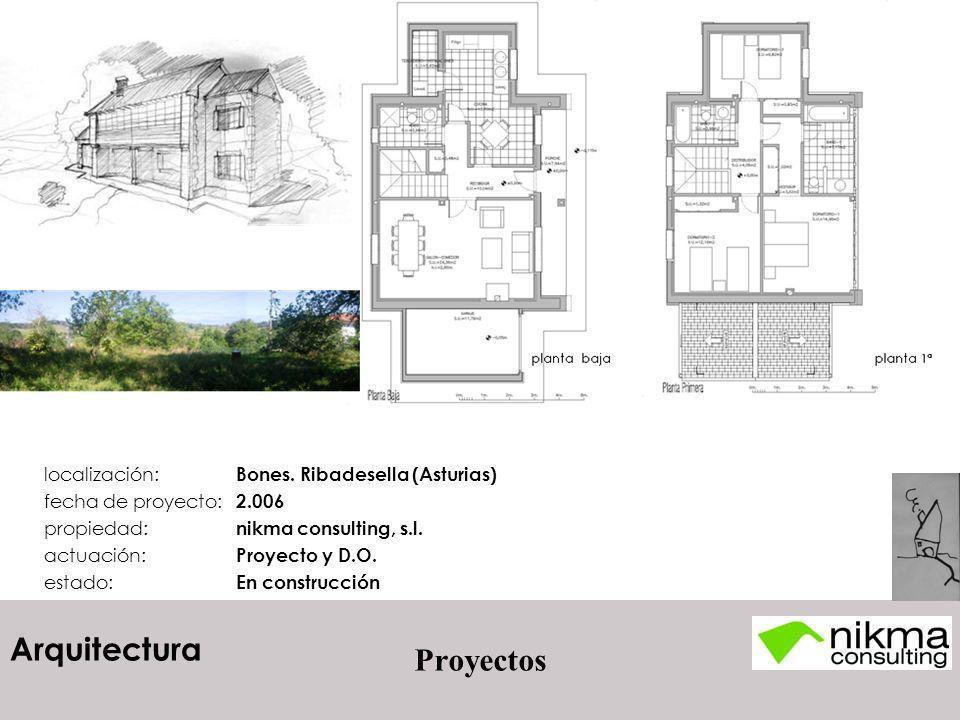 Proyectos localización: Bones. Ribadesella (Asturias)