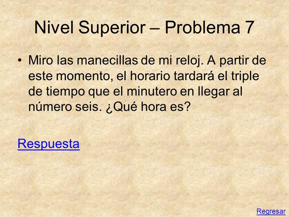 Nivel Superior – Problema 7