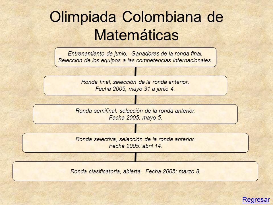 Olimpiada Colombiana de Matemáticas