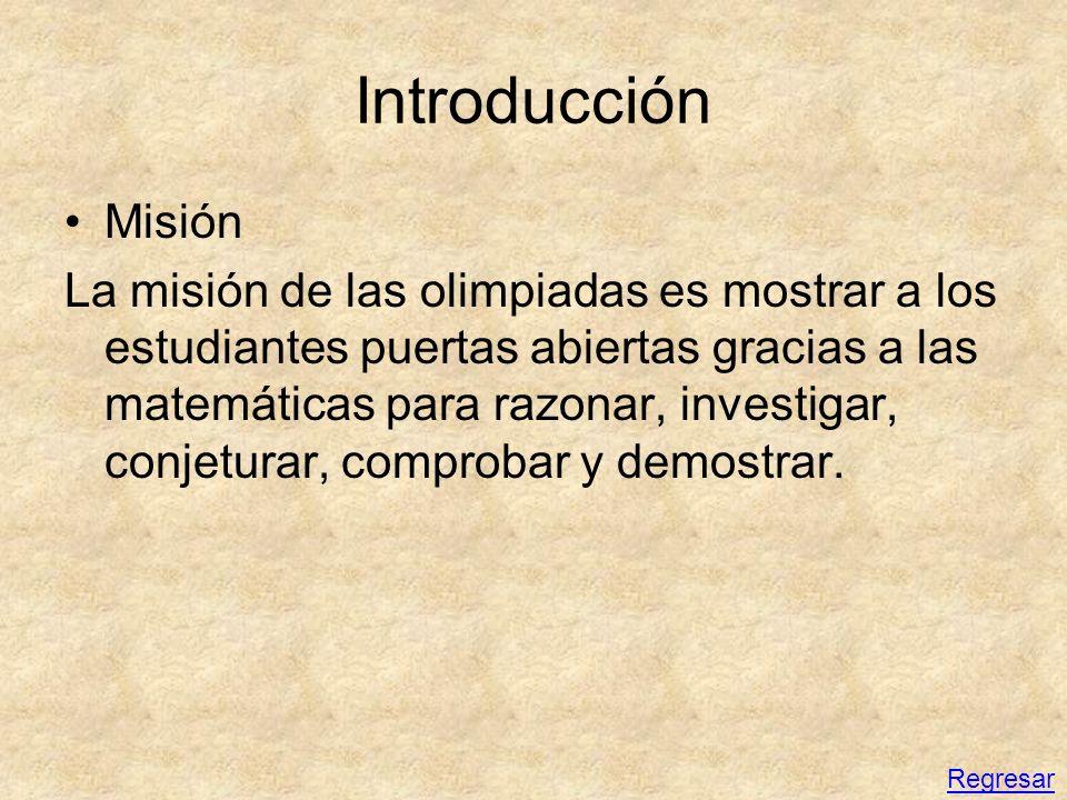 Introducción Misión.