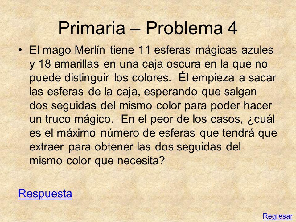 Primaria – Problema 4