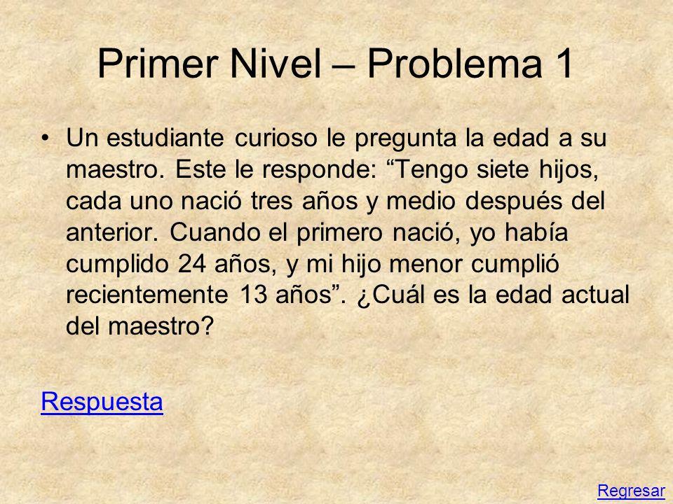 Primer Nivel – Problema 1