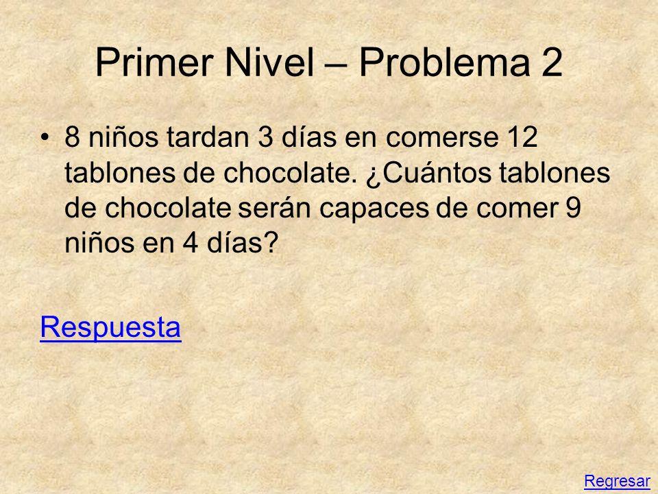 Primer Nivel – Problema 2
