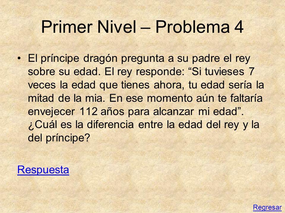 Primer Nivel – Problema 4