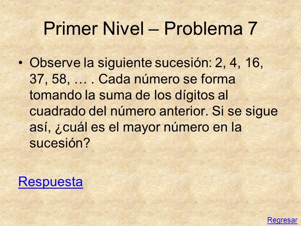 Primer Nivel – Problema 7