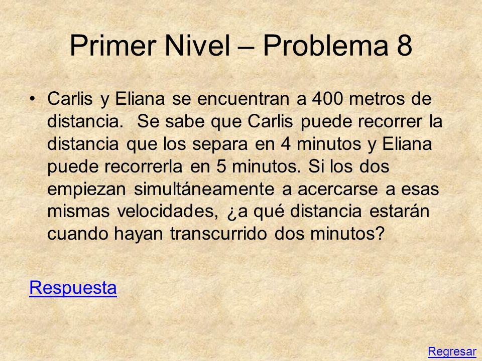 Primer Nivel – Problema 8