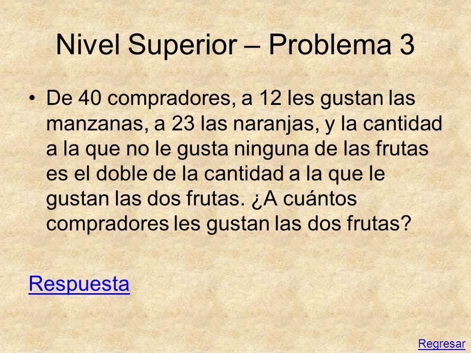 Nivel Superior – Problema 3