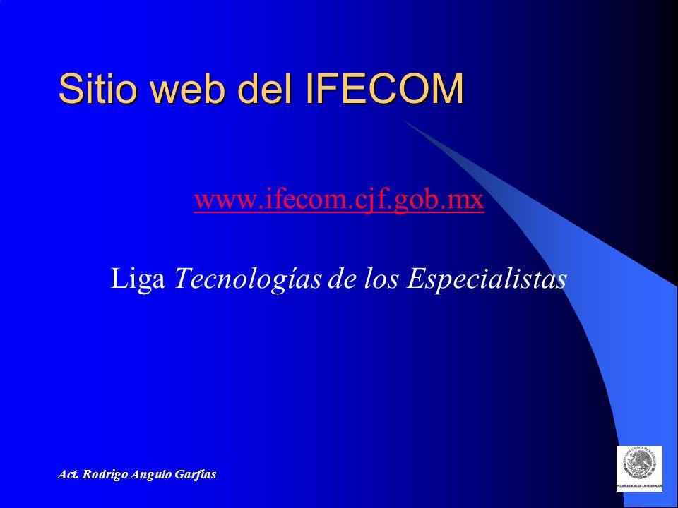 Liga Tecnologías de los Especialistas