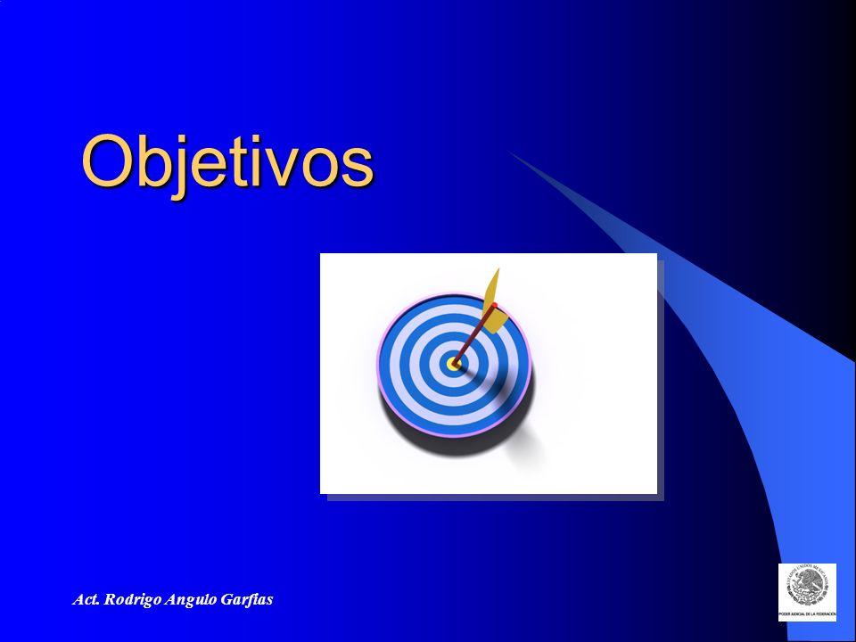 Objetivos Act. Rodrigo Angulo Garfias