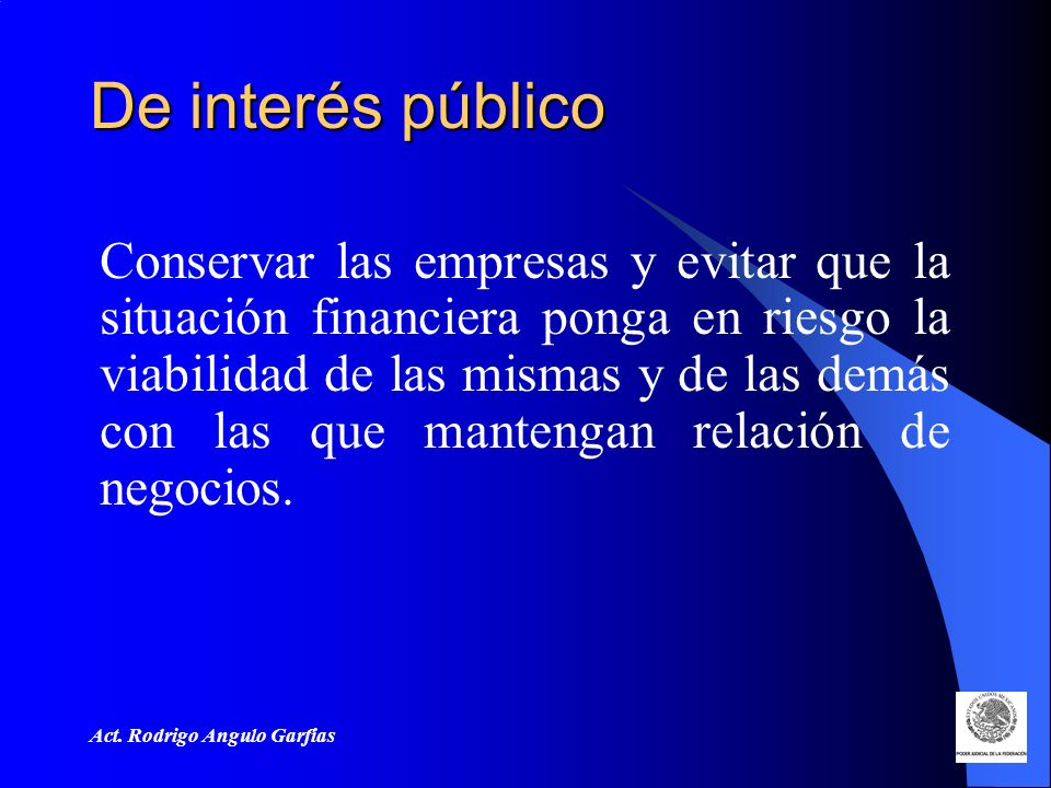 De interés público