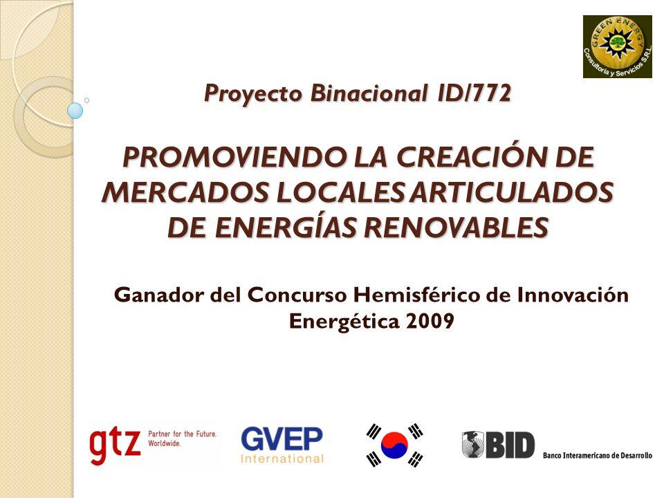 Ganador del Concurso Hemisférico de Innovación Energética 2009