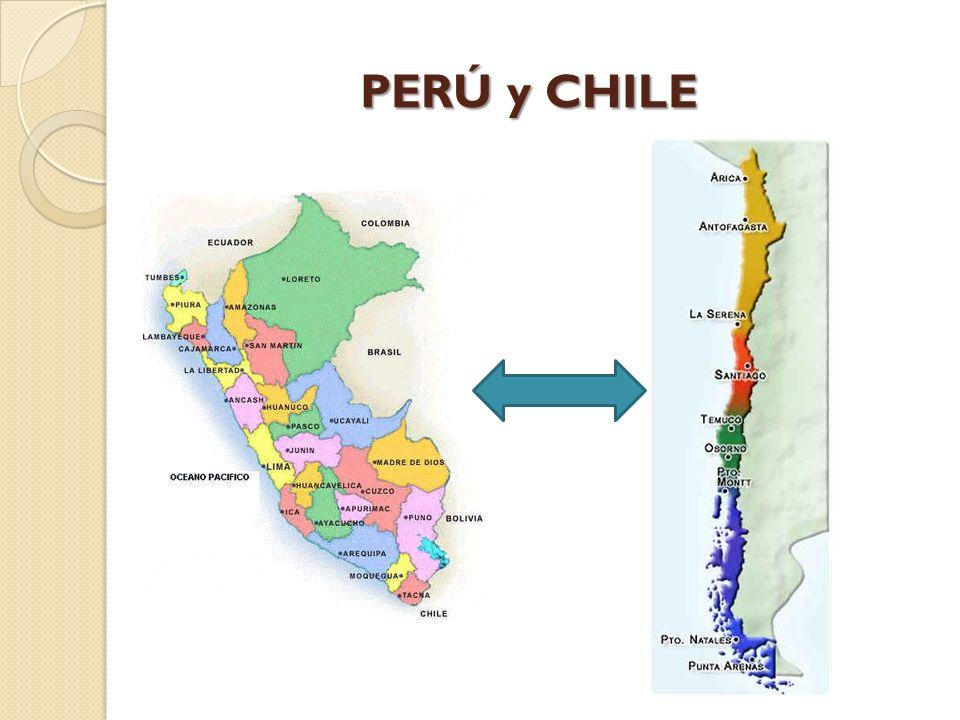 PERÚ y CHILE