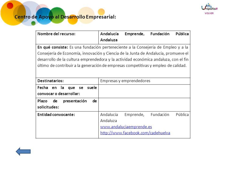 Centro de Apoyo al Desarrollo Empresarial: