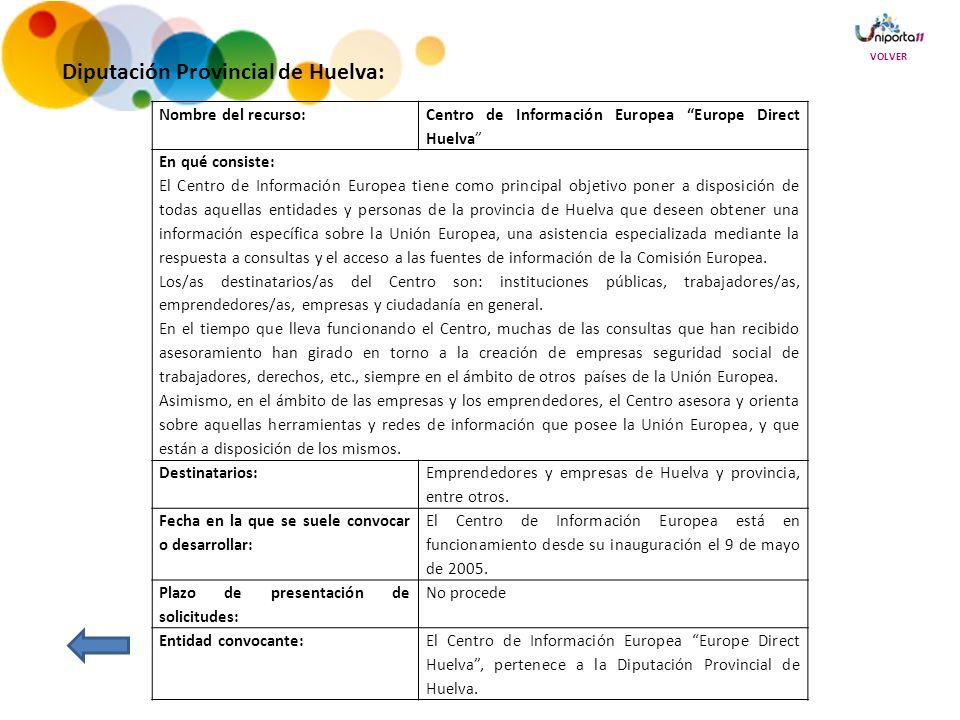 Diputación Provincial de Huelva: