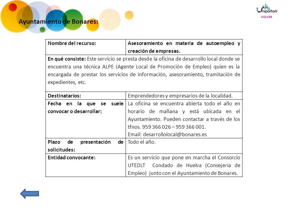 Ayuntamiento de Bonares: