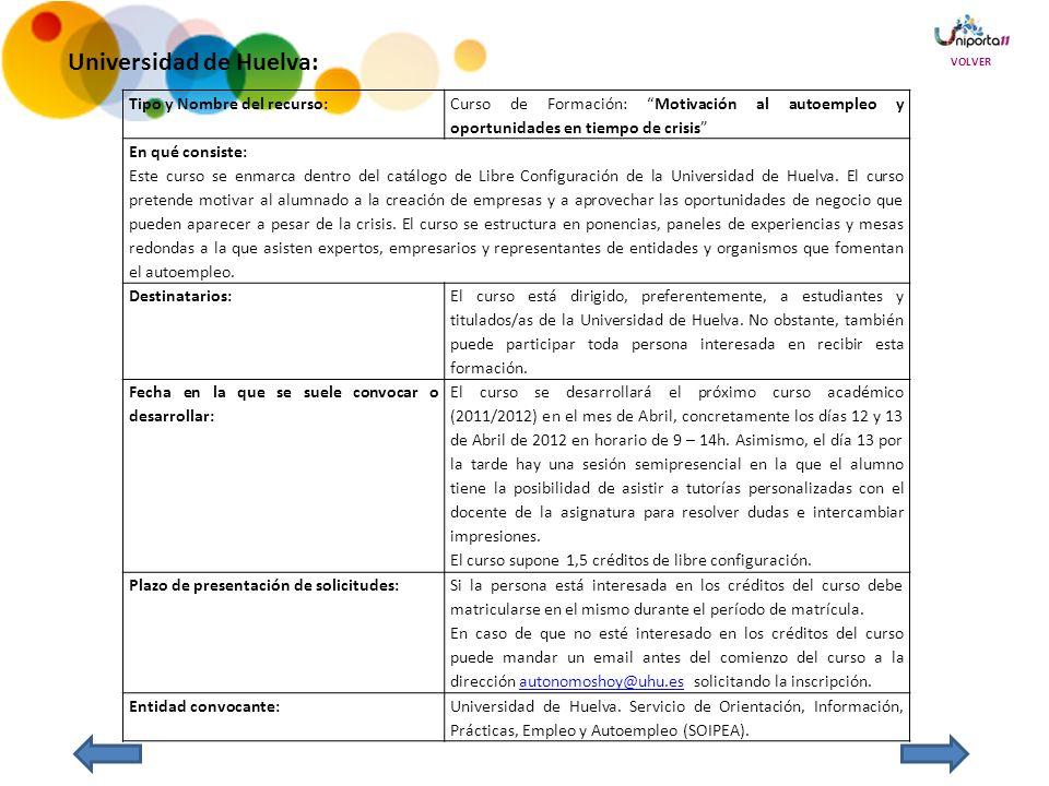 Universidad de Huelva: