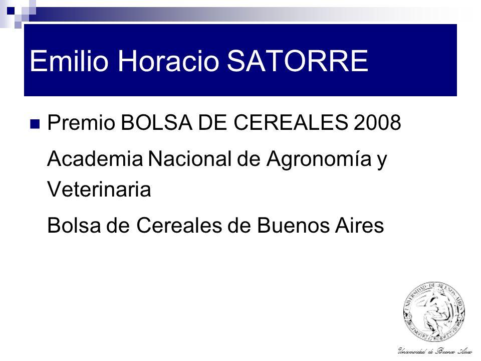 Emilio Horacio SATORRE